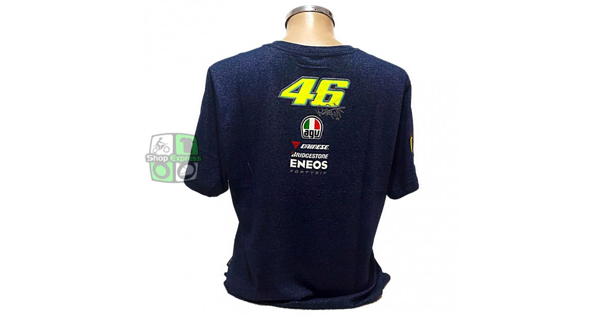 CAMISETA VR46 FORTY SIX - MESCLA - ref 210