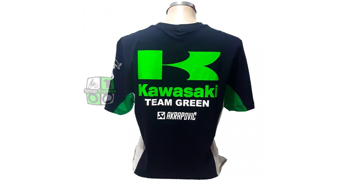 CAMISETA KAWASAKI TEAM GREEN - ref 264